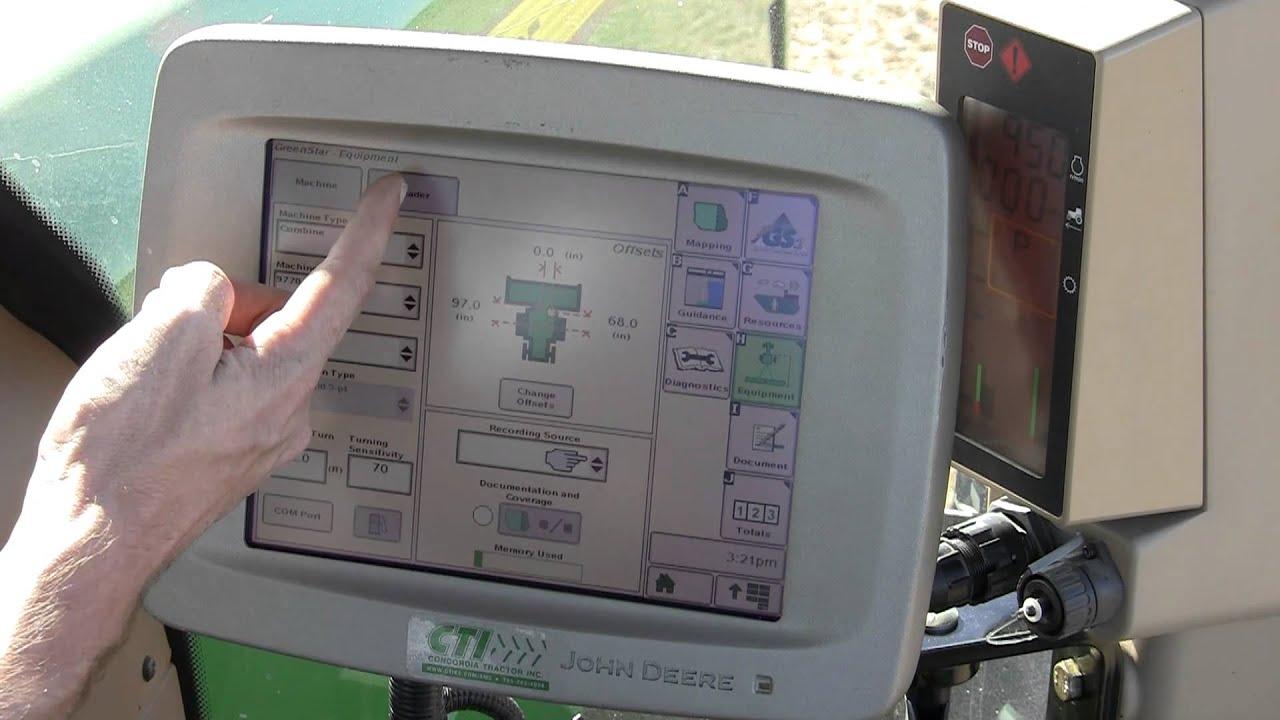 greenstar setup tips and tricks youtube rh youtube com 2630 John Deere Parts John Deere 2630 Tractor Specs