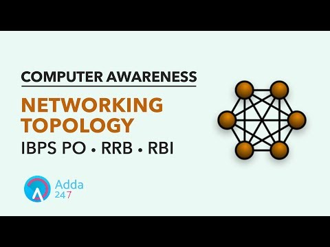 IBPS PO RRB RBI | Networking Topology | Computer Awareness | Online Coaching for SBI IBPS Bank PO