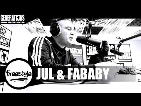 Jul & Fababy - Freestyle (Live des Studios de Generations)