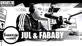 Jul & Fababy - Freestyle (Live des Studios de Generations)