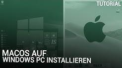 macOS Mojave auf Windows PC installieren | Hackintosh
