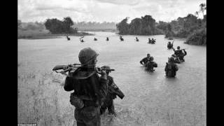 CCR - Run Through The Jungle (Vietnam footage)