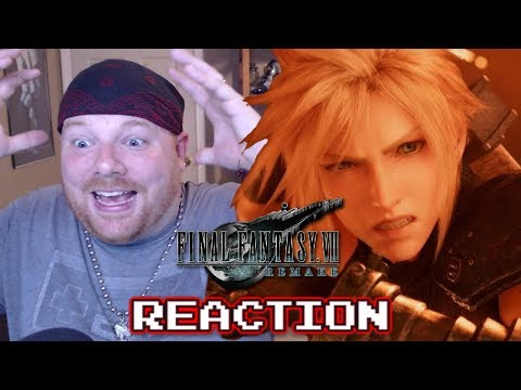 Final Fantasy 7 Remake Trailer May 2019 - Krimson KB Reacts