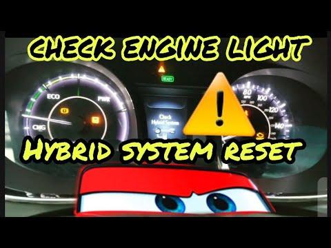 Quick Reset Hybrid System,remove Check Engin Light #Toyota #Avalon, #Camry #Prius #Lexus #Honda