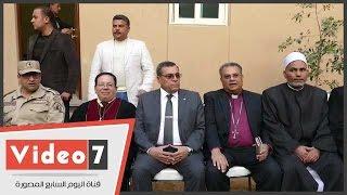 بالفيديو.. محافظ الفيوم يشارك بافتتاح الكنيسة الإنجيلية بعد ترميمها
