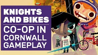 Knights And Bikes Gameplay | The Goonies Meet Co-Op Meet Cornwall