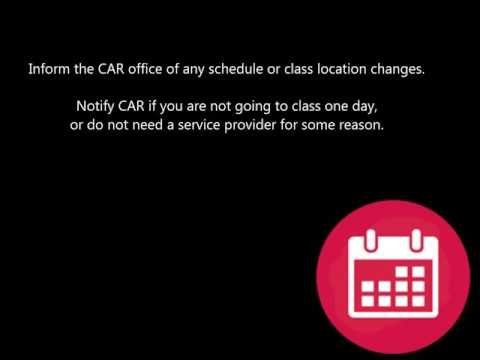 Student Agreement: Service Providers