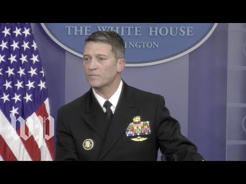 Download Youtube: White House doctor: 'Absolutely no concerns' about Trump's 'cognitive ability'