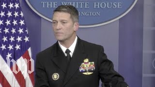White House doctor: 'Absolutely no concerns' about Trump's 'cognitive ability'