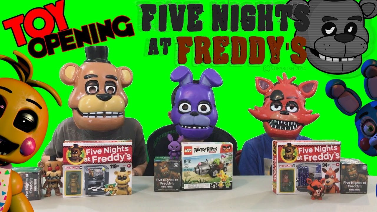 Five Nights At Freddy S Blind Box Opening In Chuck E