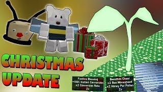 *NEW* Christmas UPDATE!!! + Supreme Sprout - Roblox Bee swarm simulator
