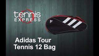 adidas Tour Tennis 12 Racquet Bag Review | Tennis Express