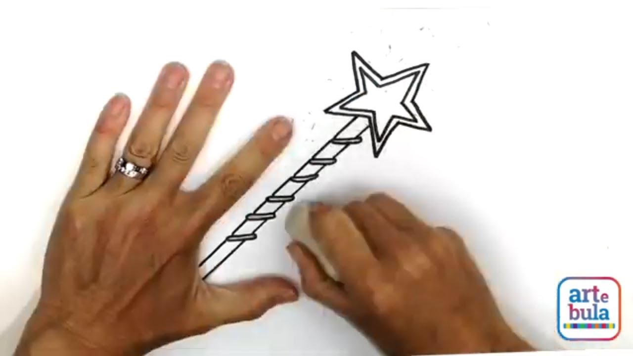 How to Draw a Magic Wand