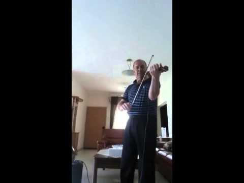 הכנר ווליד באשרה - תקסים כינור