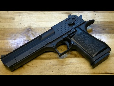 Пистолет Desert Eagle .50 AE: обзор & стрельба