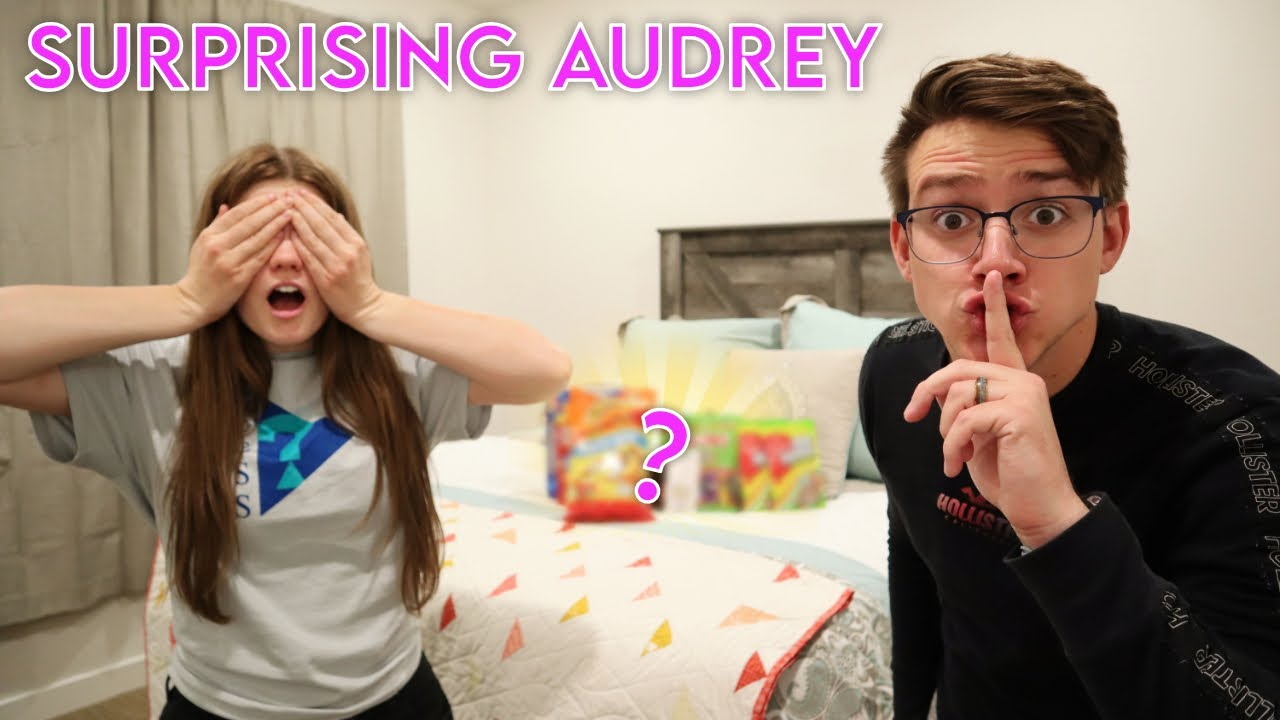Spencer SURPRISES Audrey!  What could it be?...