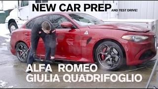New Car Prep: Alfa Romeo Giulia Quadrifoglio