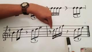 Cómo leer partitura fácil y rápido #2- Tutorial - Obeth T...