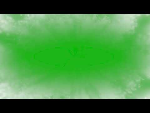 Green Screen Frame Smoke Overlays Fog HD chrome key Футаж Зеленый фон Рамка туман хромакей