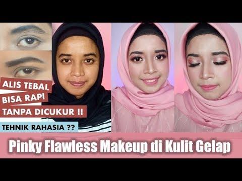 tehnik-makeup-flawless-untuk-kulit-gelap-+-tehnik-merapikan-alis-tebal-tanpa-cukur