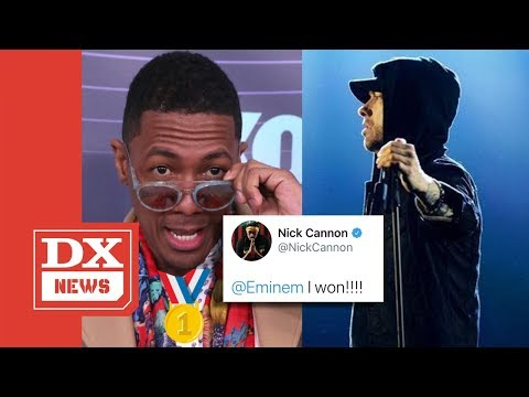 Trey White - Nick Cannon Says he wins Eminem rap BEEF!