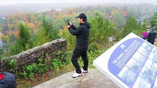 Lions Lookout Fall Color, Huntsville, Ontario, Canada 4K