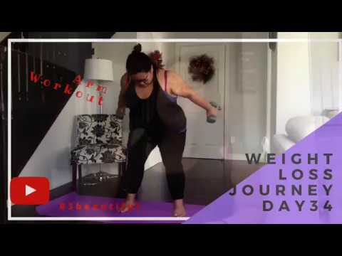 Weight Loss Journey Day 34   Lets get that Arm Workout