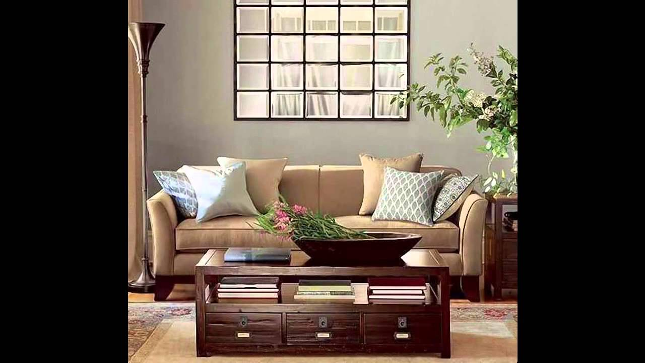 Living room mirror decorations ideas youtube for Mirror wall decoration ideas living room