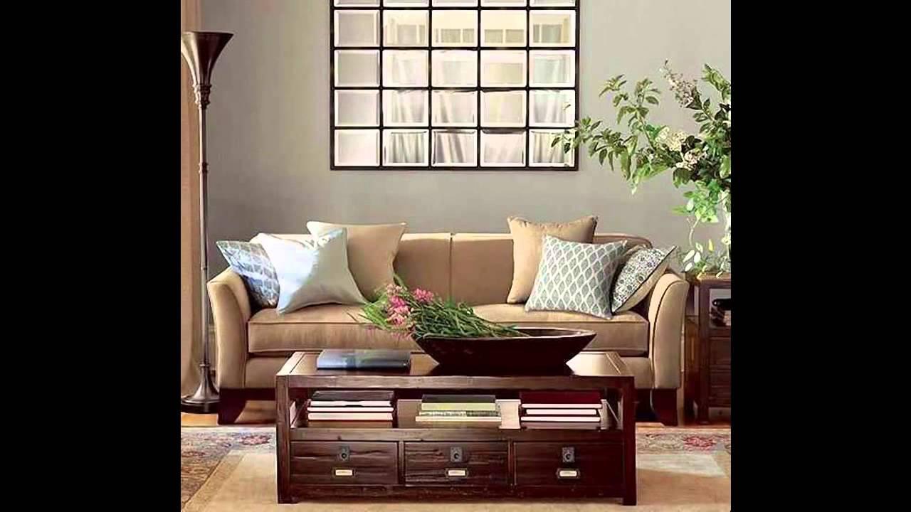 Living Room Mirror Decorations Ideas