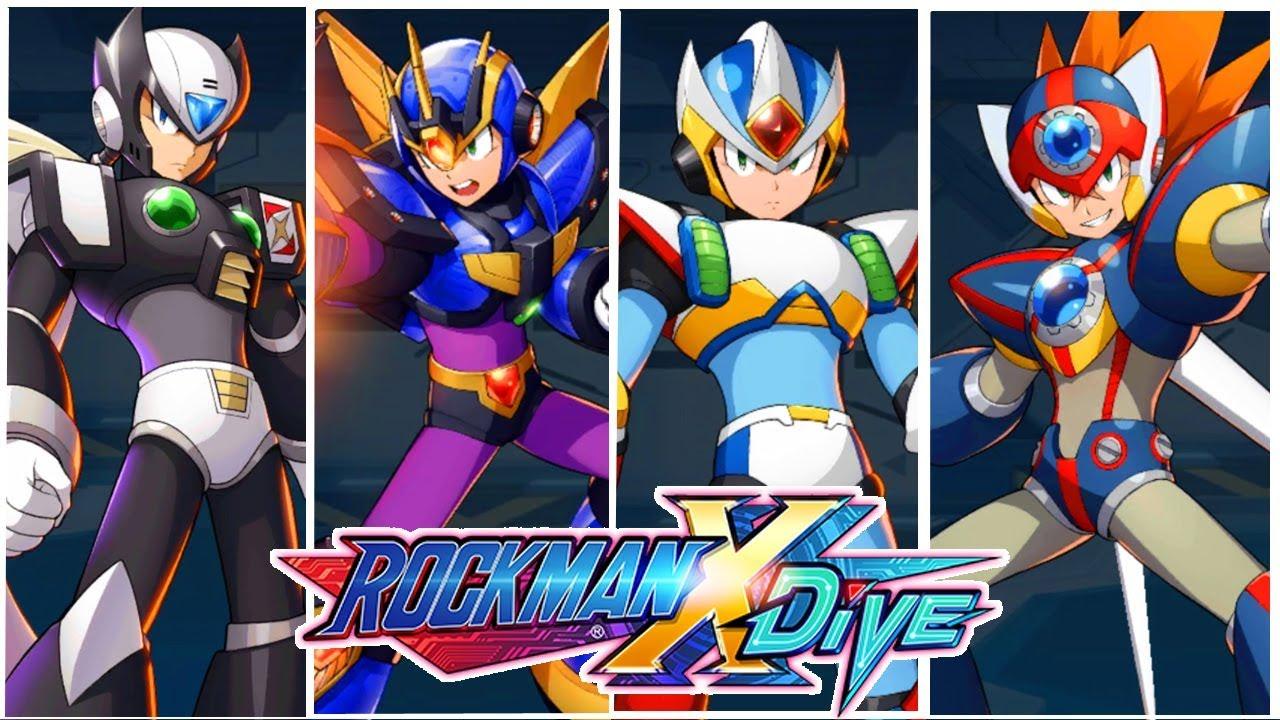 ダイブ ロックマン x 【ロックマンX DIVE】最強キャラランキング