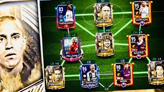 ICONS TOURNAMENT! We got Roberto Carlos- icons pack and gameplay ! Bergkamp,Ferdinand fifa Mobile 19