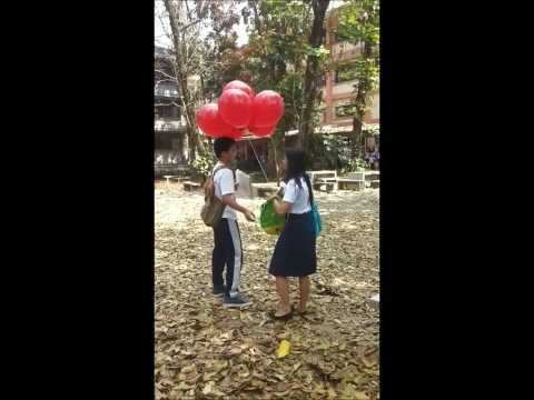 A Sweet Campus Proposal on Valentine's day at SMU Bayombong