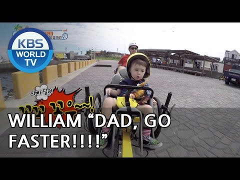 "William ""Dad! go faster! Faster! XD"" [The Return of Superman/2018.11.11]"