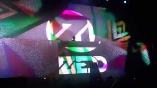 Zedd - Intro/Spectrum/In My Mind (Live @ Foro Alive Monterrey 2013)