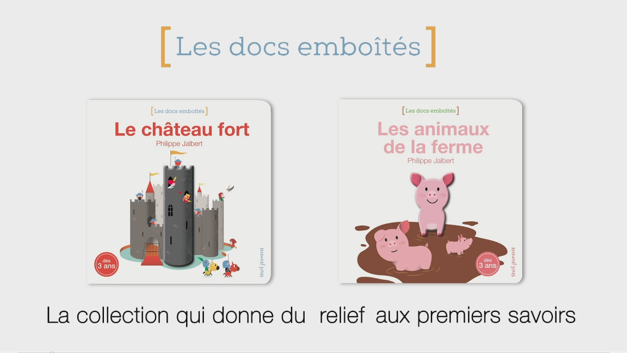 le ch teau fort les animaux de la ferme les livres pour votre enfant youtube. Black Bedroom Furniture Sets. Home Design Ideas