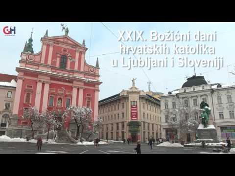XXIX. Božićni dani hrvatskih katolika u Ljubljani i Sloveniji