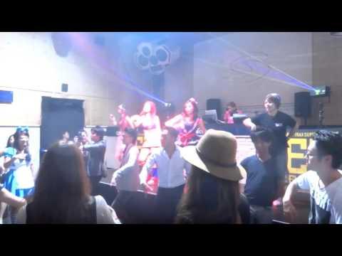 Vicky Vale - Superdance [ParaPara] @ Velfarre 2015 at Ageha
