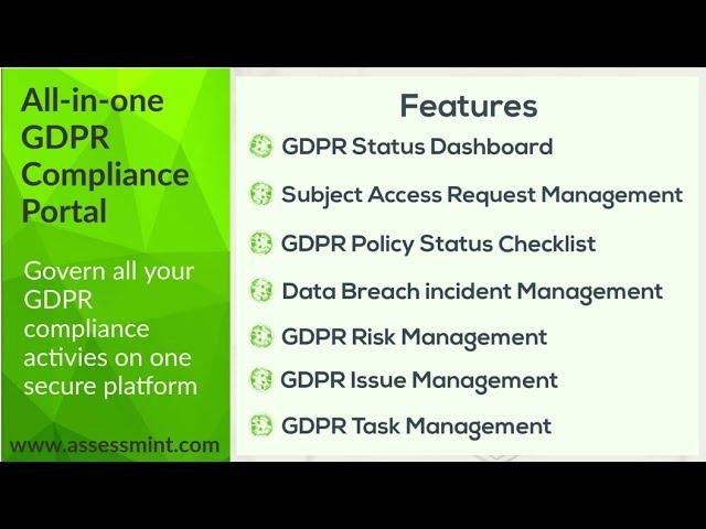 Assessmint GDPR Portal