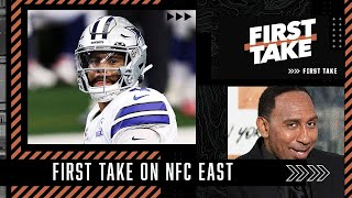 Stephen A. has the Cowboys winning 10 games and the NFC East