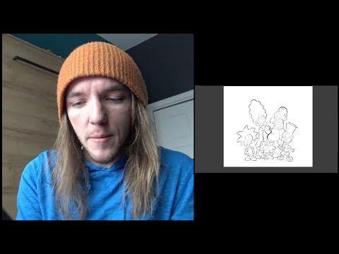 Alex A.  redessine Les Simpson