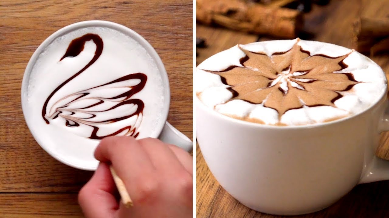 Latte Art Designs For Your Coffee