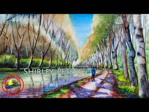 Fine Art Tips on How to Paint Plein Air in Sydney with Shirley Peters on Colour In Your Life