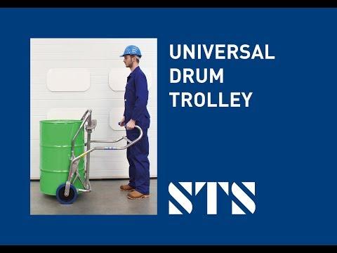 STS - Universal Drum Trolley (DTC01) Drum Truck, Drum Trolley