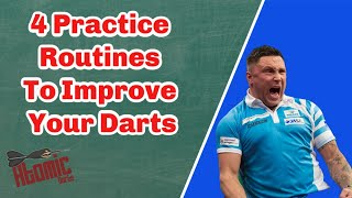 4 Practice Routines t๐ Improve Your Darts - From Beginner to Pros