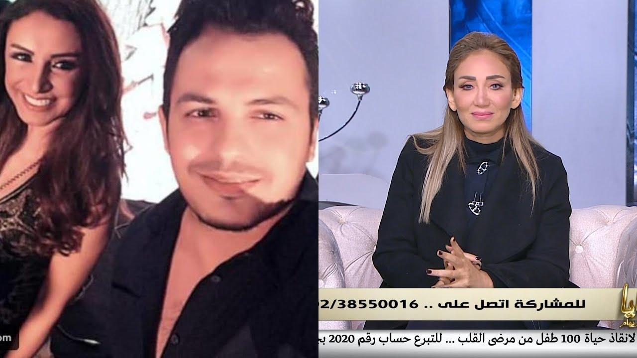 لن تصدق تعليق مثير لـ ريهام سعيد بعد زواج المطربة أنغام من الموزع أحمد إبراهيم