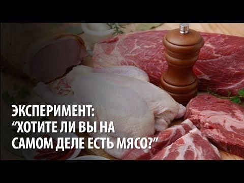 Эксперимент: Хотите ли вы на самом деле есть мясо?