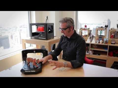 Makerbot Digitizer   Buy MakerBot Digitizer Desktop 3D Scanner