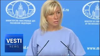 Zakharova: Who ACTUALLY Rules Germany? Americans Still Militarily Occupy the German People