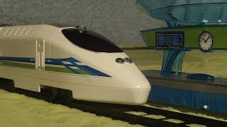 Video for Children Toy TRAINS White Bullet Train Set for Kiddies Videos