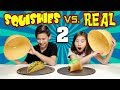 Squishy food vs real food challenge 2 more jumbo squishies mp3